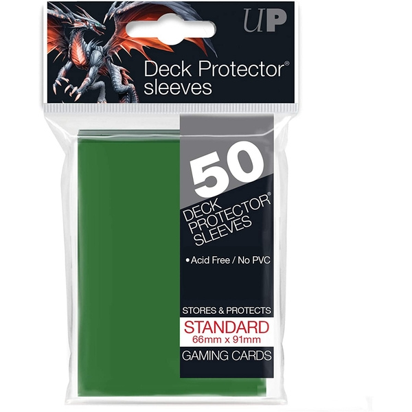 Ultra Pro Deck Protector Sleeves (Green)