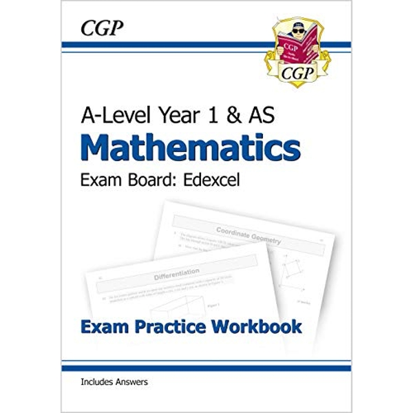 New A-Level Maths for Edexcel: Year 1 & AS Exam Practice Workbook by CGP Books (Paperback, 2017)