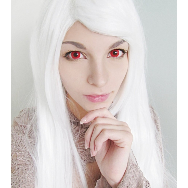 Bloody Red 1 Day Halloween Coloured Contact Lenses (MesmerEyez XtremeEyez) - Image 5