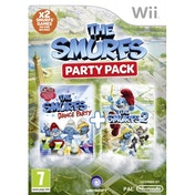 Smurfs Dance Party & Smurfs 2 Double Pack Wii Game