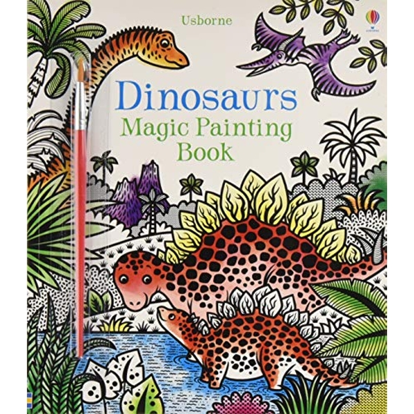 Dinosaurs Magic Painting Book by Lucy Bowman (Paperback, 2017)