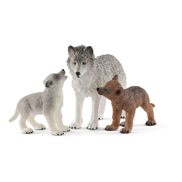 Schleich Wild Life - Mother Wolf With Pups