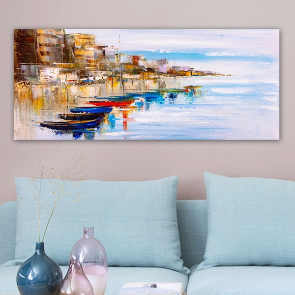 YTY641165587_50120 Multicolor Decorative Canvas Painting
