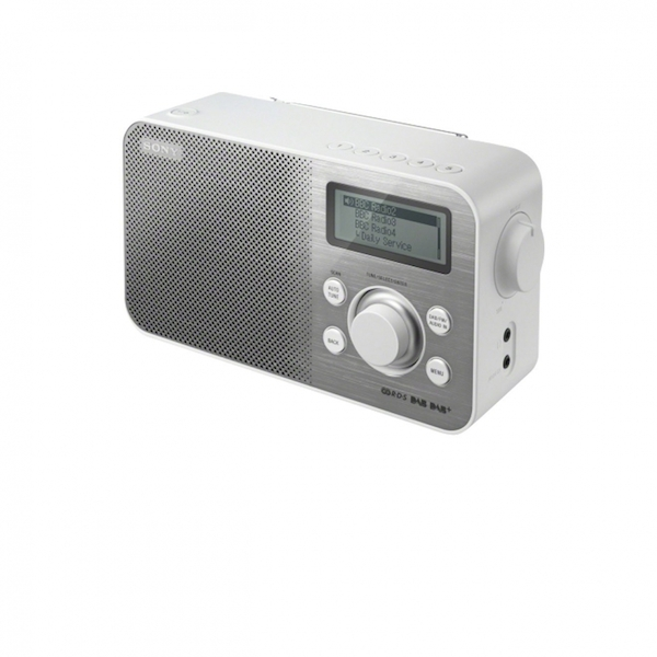 Sony XDR-S60DBP DAB /DAB/FM Digital Radio White UK Plug