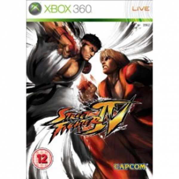 Street Fighter IV 4 Game Xbox 360