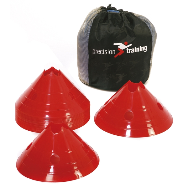 Precision Giant Saucer Cone (Set of 20) - Red - Image 1