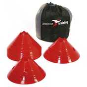 Precision Giant Saucer Cone (Set of 20) - Red