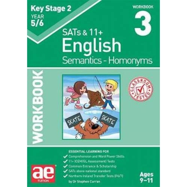 KS2 Semantics Year 5/6 Workbook 3 - Homonyms  Paperback / softback 2019