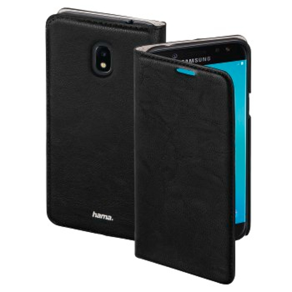 "Hama ""Guard Case"" Booklet Case for Samsung Galaxy J3 (2017), black"