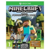 Minecraft Edition Favourites Pack Limited Edition Xbox One Game