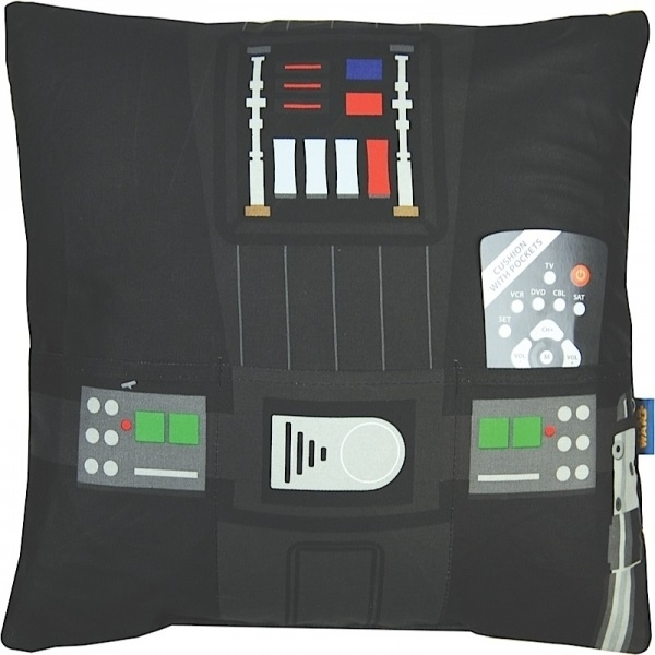 Darth Vader (Star Wars) Cushion with Pockets