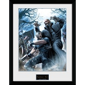 Resident Evil Leon Collector Print