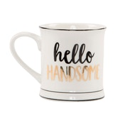 Sass & Belle Hello Handsome Mug