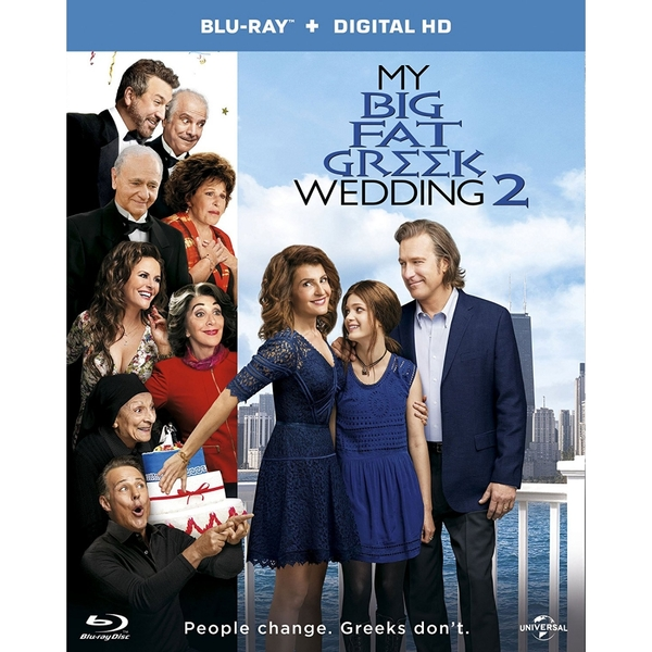 My Big Fat Greek Wedding 2 Blu-ray [2016]