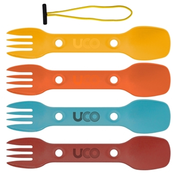 UCO Utility Spork 4 Pack with Tether Classic