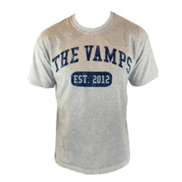 The Vamps Team Vamps Grey T Shirt X Large
