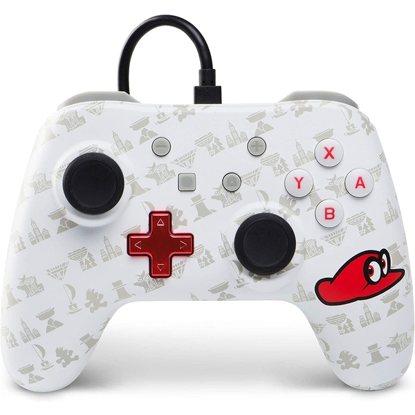 PowerA Mario Odyssey Wired Nintendo Switch Controller