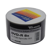DVD-R 8X 50PK Boxed Printable