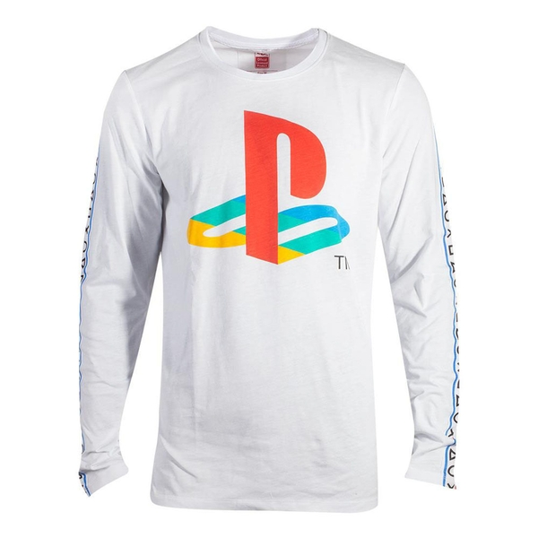 Sony - Traping Men's Small Long Sleeved Shirt - White
