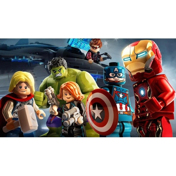 Lego Marvel Avengers PS4 Game - Image 4