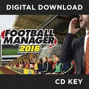 Football Manager 2016 PC CD Key Download for Steam