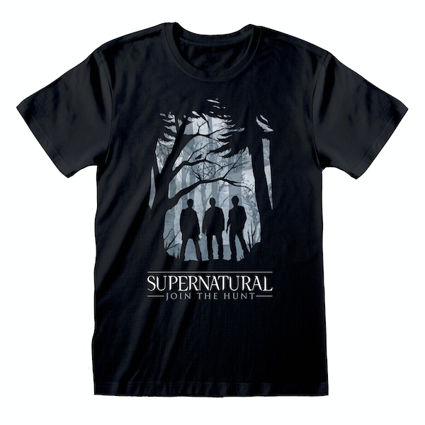 Supernatural - Silhouette Unisex Small T-Shirt - Black