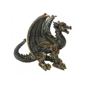 Mechanical Protector Dragon Statue