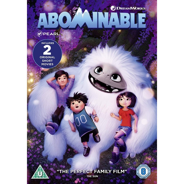 Abominable 2019 DVD