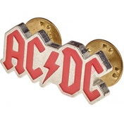 AC/DC: Enamelled Logo Metal Pin Badge