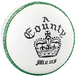 Readers County Crown Cricket Ball White - Youths - Image 2