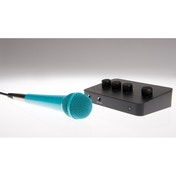 Lucky Voice Karaoke Kit Blue Microphone