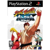 Street Fighter Alpha Anthology Game PS2