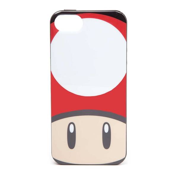 Nintendo - Toad Mushroom Face Apple Iphone 5/5S Phone Cover