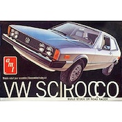 AMT VW Scirocco 1:25 Scale 2-in-1  Model Kit