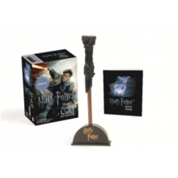 Harry Potter Wizard's Wand with Sticker Book : Lights Up!