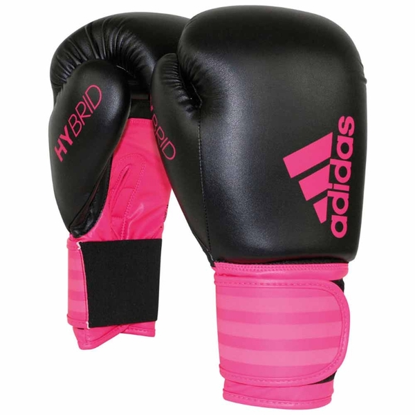 Adidas Hybrid Boxing Gloves Pink 6oz