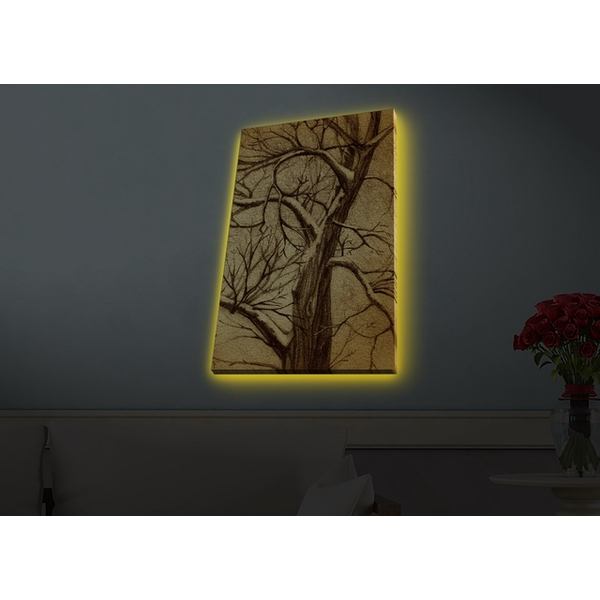 4570HDACT-075 Multicolor Decorative Led Lighted Canvas Painting