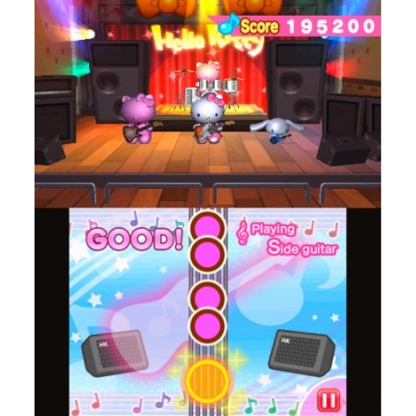 Hello Kitty And Friends Rocking World 3DS Game - Image 4