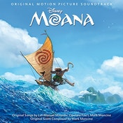 Moana (Original Motion Picture Soundtrack) CD
