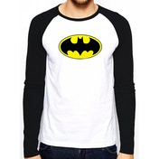 Batman - Logo Men's Small Baseball Shirt - White