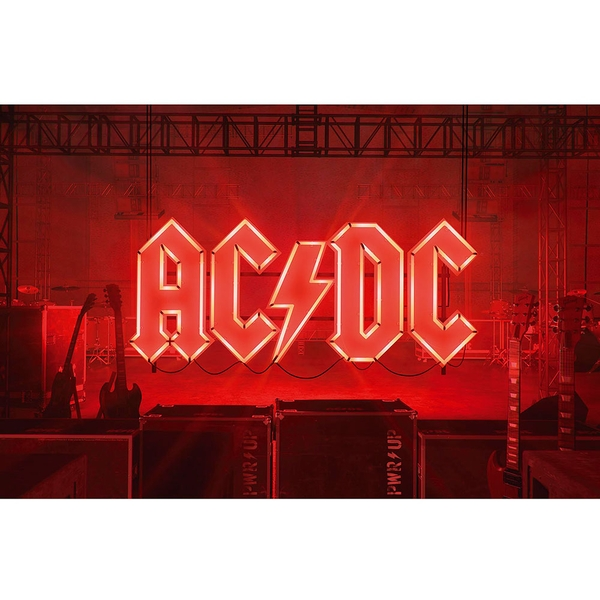 AC/DC - PWR-UP Textile Poster