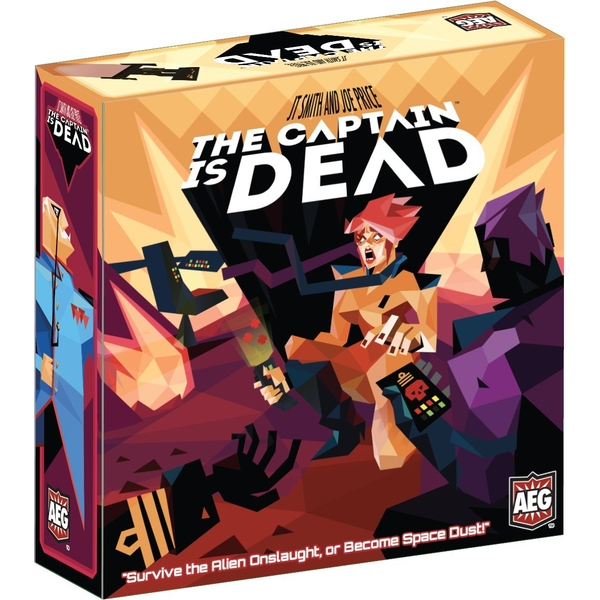 Image of The Captain is Dead Board Game