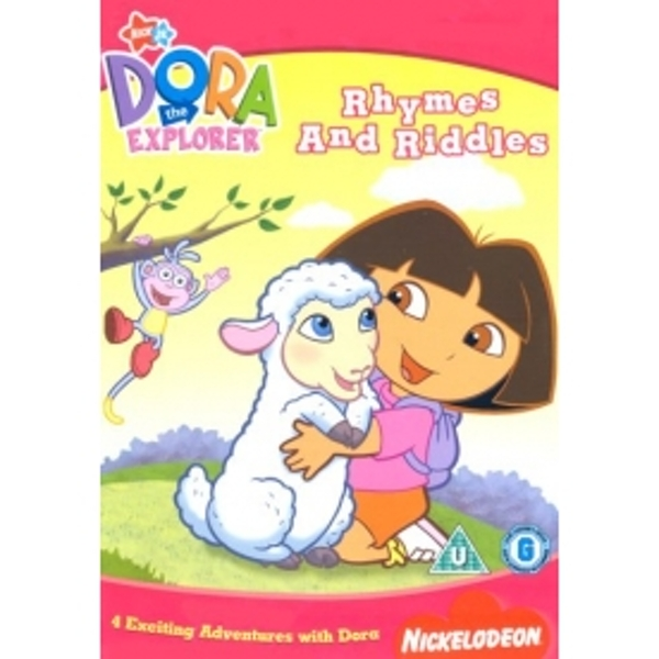 Dora The Explorer: Rhymes And Riddles DVD