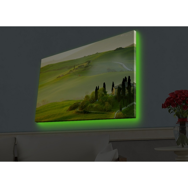 4570HDACT-007 Multicolor Decorative Led Lighted Canvas Painting