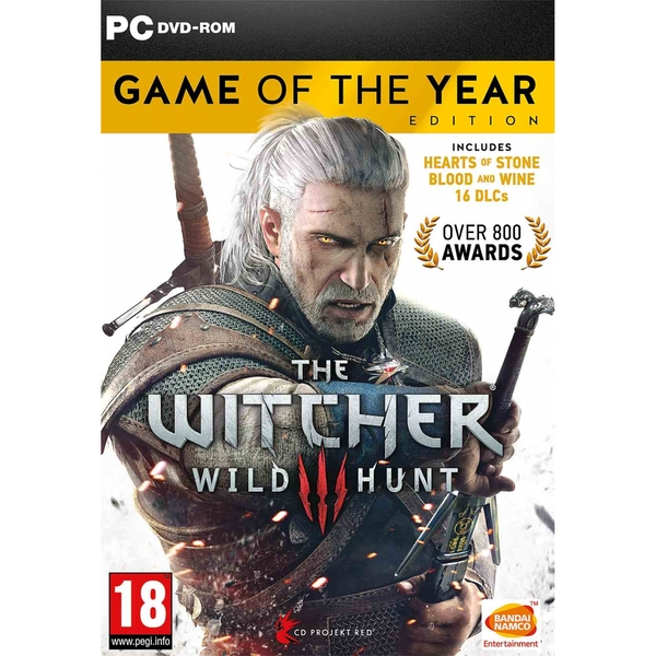 The Witcher 3 Wild Hunt Game Of The Year (GOTY) PC Game