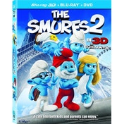 The Smurfs 2 3D Blu-ray & UV Copy