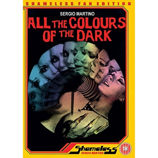 All The Colours Of The Dark aka Tutti I Colori Del Buio DVD