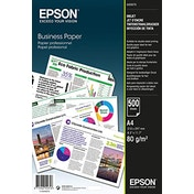 Epson A4 Business Plain Paper (Pack of 500), C13S450075