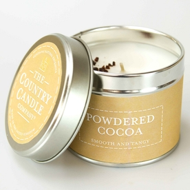 Powdered Cacao (Pastel Collection) Tin Candle