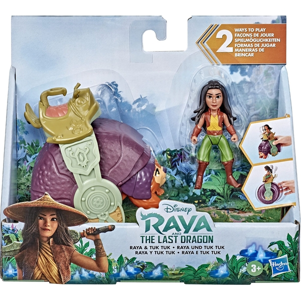 Disney Princess Raya And Tuk Tuk Playset